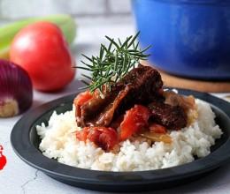 普罗旺斯番茄炖烤牛肋排