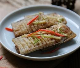 春节菜谱-酥香带鱼