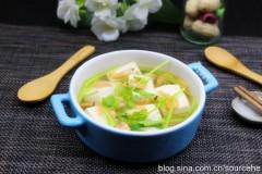 磷虾豆腐汤