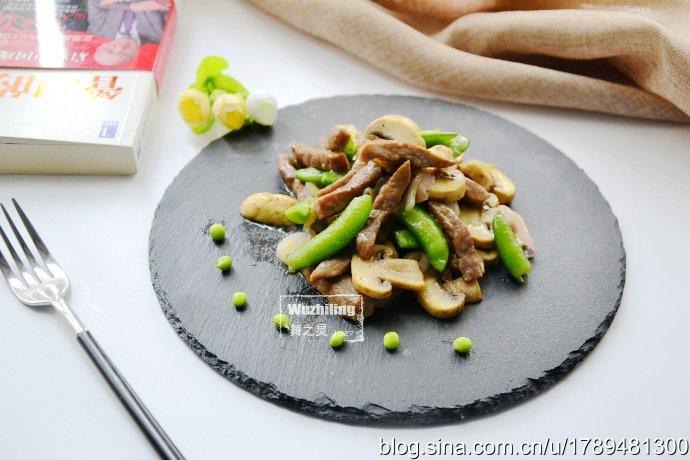 蘑菇炒牛肉,多吃增强免疫力还不长肉