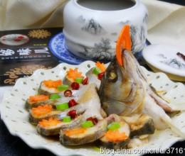 春节菜谱-孔雀开屏鱼