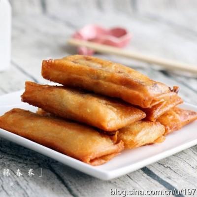 春节菜谱-三丝春卷