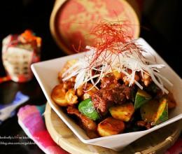 韩式辣酱烩牛肉