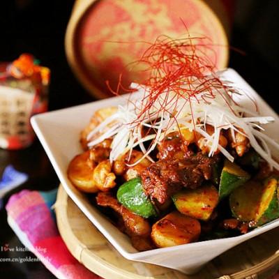 韓式辣醬燴牛肉