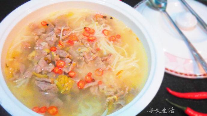 #新春悠享家#麻辣酸爽的美味——【酸汤牛肉】