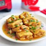 #新春悠享家#煎酿口袋豆腐