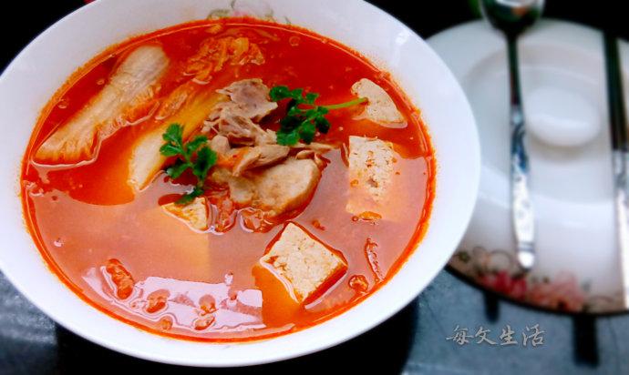 韩国泡菜汤