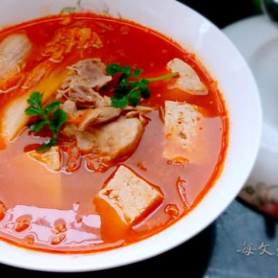 韓國泡菜湯