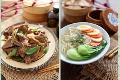 春节菜谱-黑椒牛脊骨&牛骨汤面