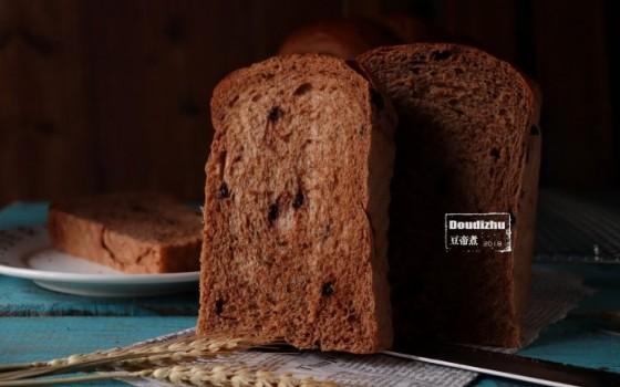 巧克力可可奶油吐司面包