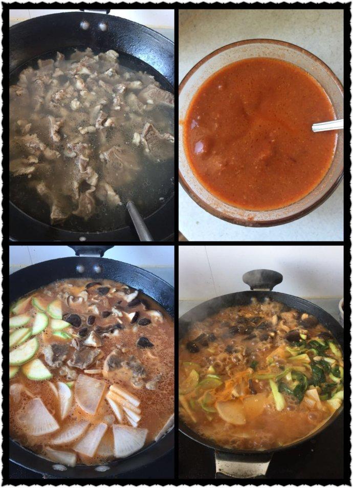 韩式牛肉酱汤