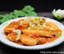 春节菜谱-茄子焖大虾