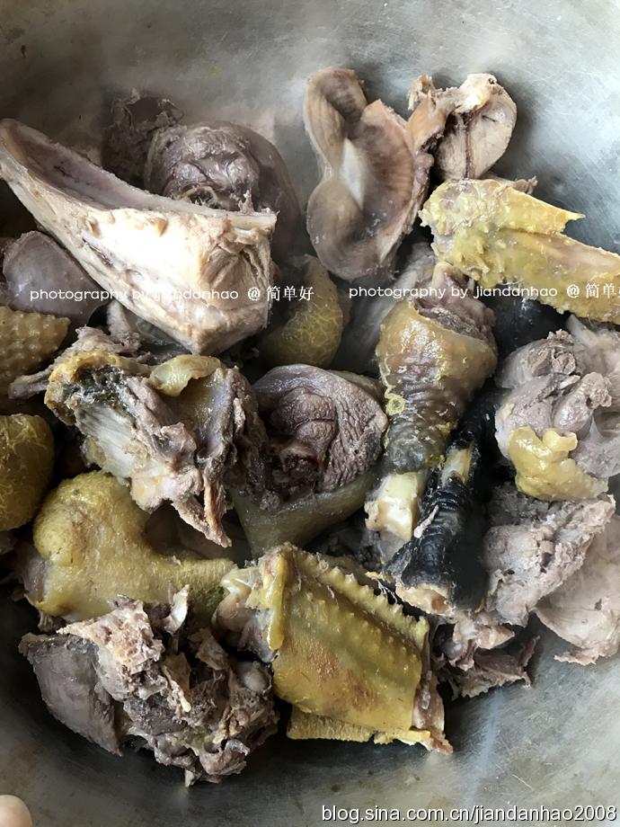 东北菜-小鸡炖蘑菇
