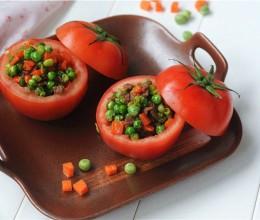 西红柿牛肉盅