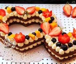 心心相印巧克力蛋糕