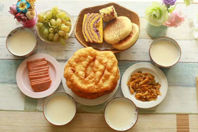 #新春悠享家#好吃健康有营养那些做过的早餐