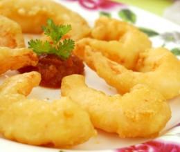 春节菜谱-酥香炸虾