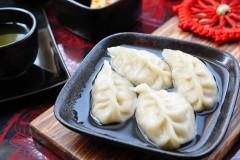 韭黄豆腐水饺