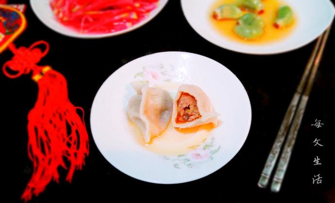 牛肉洋葱水饺
