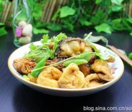 舌尖3的家常菜,豆参煮鱼