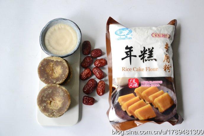福建传统红糖年糕