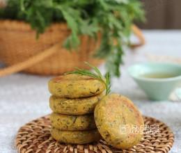 艾草煎饼+艾草窝窝--春季养生