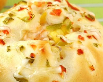 蝦仁玉米面包