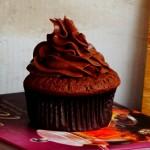 古典巧克力蛋糕與黑巧克力奶酪霜