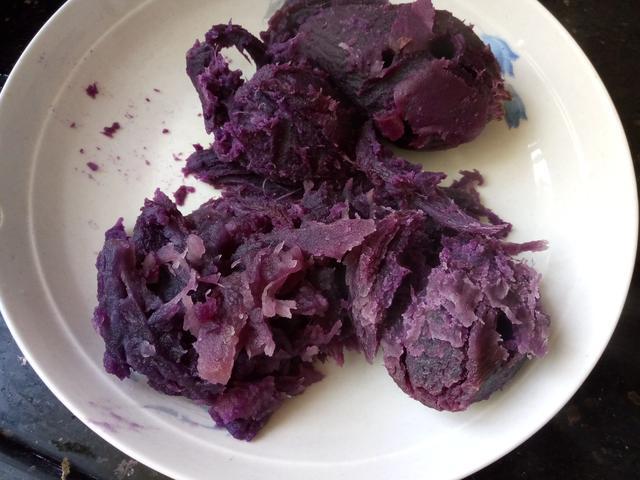 紫薯糯米餈