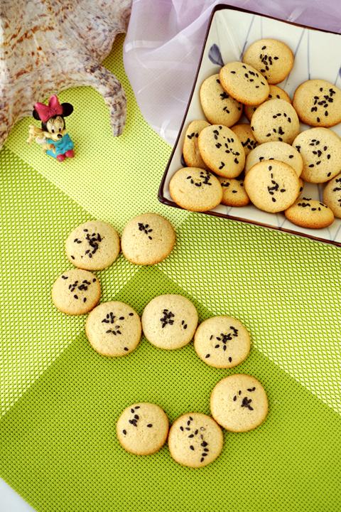 #新春悠享家#焦糖fluff黑芝麻薄脆饼