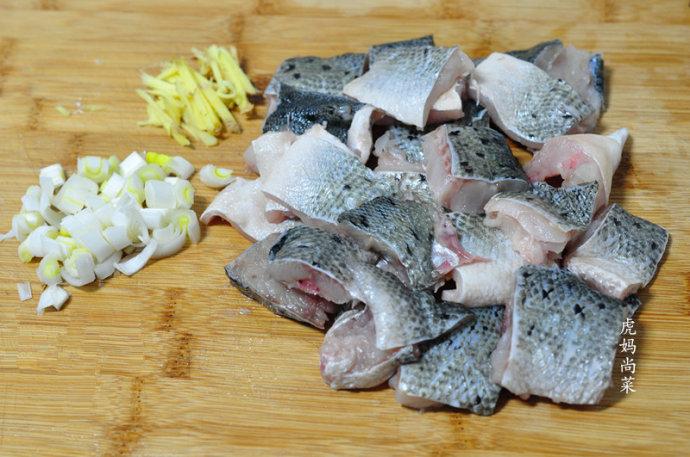 空气炸锅烤鲈鱼块