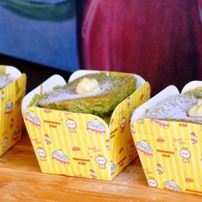 抹茶北海道杯子蛋糕