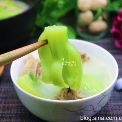 潮州芥菜腊鸭汤