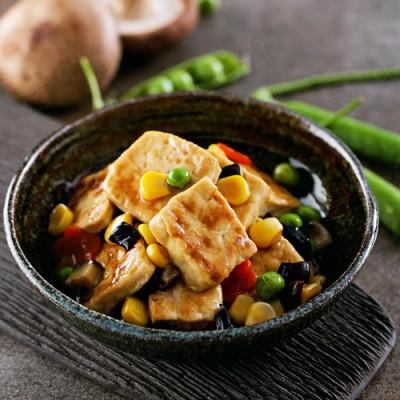 什錦炒豆腐