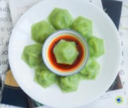 多边形翡翠三鲜饺子