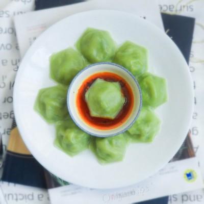 多邊形翡翠三鮮餃子