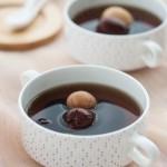 黑棗桂圓鵪鶉蛋甜湯