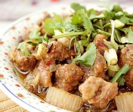 腌豇豆蒸牛肉