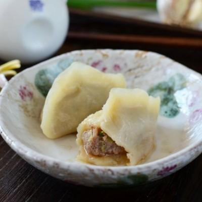 牛肉大葱烫面蒸饺