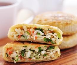 荤素巧搭配喷香萝卜丝馅饼:煮妇推荐!早餐早午餐就是它了!
