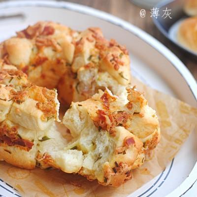 #新春悠享家#【培根芝士手撕面包】一個越撕越滿足的面包