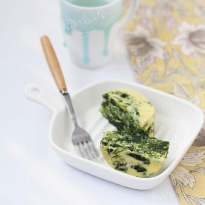 减肥早餐-菠菜焗鸡蛋