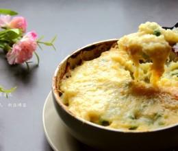 奶酪榴莲薯泥