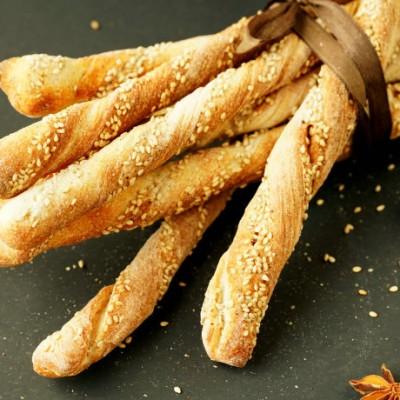 芝麻茴香面包棒