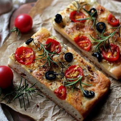 意大利面包-香草佛卡夏