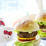 【牛肉汉堡】满满的正能量早餐,自己在家轻松做