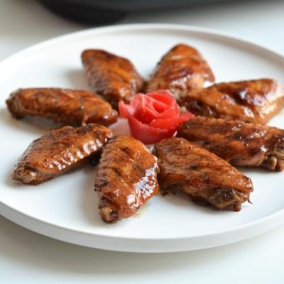 電餅鐺食譜-紅燜雞翅