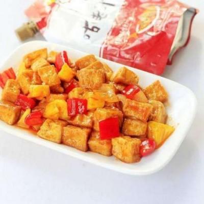 健康减肥食谱-菠萝豆腐