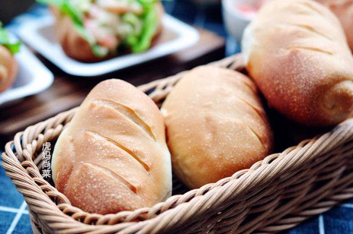 虾仁三明治