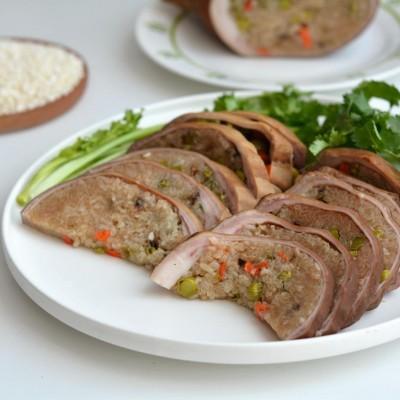 猪肚的做法大全-糯米猪肚